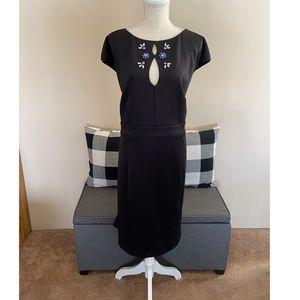 Eloquii Black Scuba Knit Dress Size 22